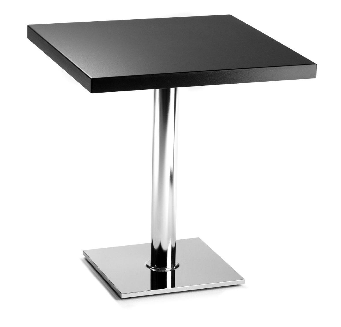 Moderner und preiswerter bistrotisch bt 3020 schwarze for Design bistrotisch