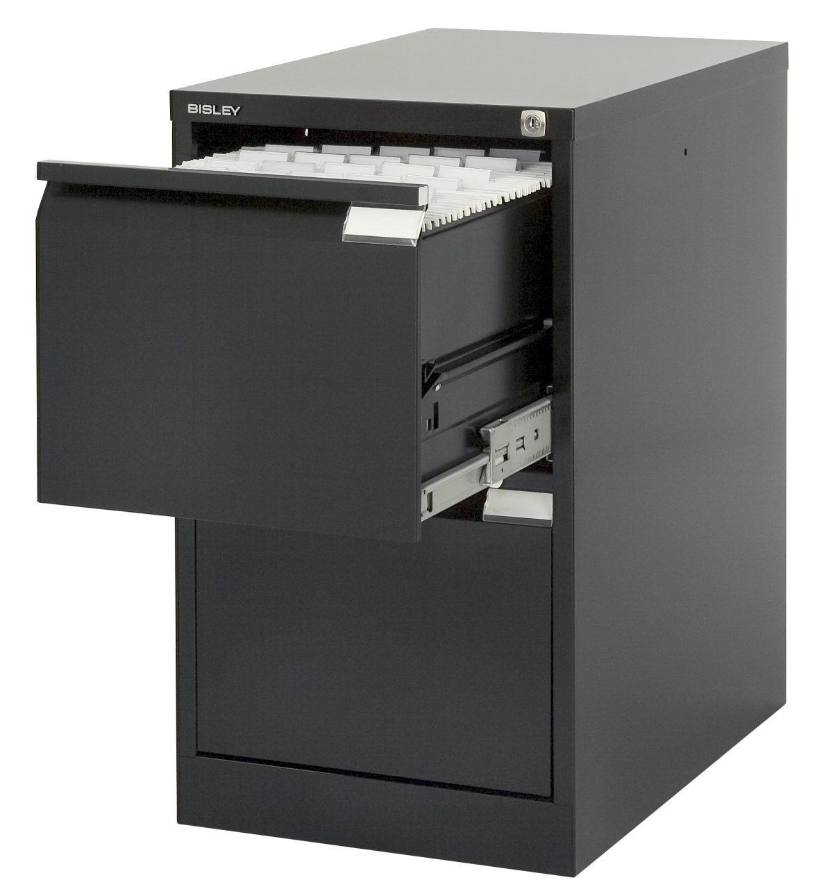 abbildung h ngeregister stahlschrank h 360 2s schwarz mit 2 abschlie baren schubladen f r din. Black Bedroom Furniture Sets. Home Design Ideas