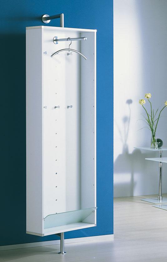 Sehr Moderne Und Drehbare Wand Garderobe Mit 1 Schuhboden