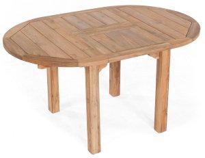 Old Teak Gartentische Ovale Tischplatte 200 X 100 Cm Wetterfest Teak