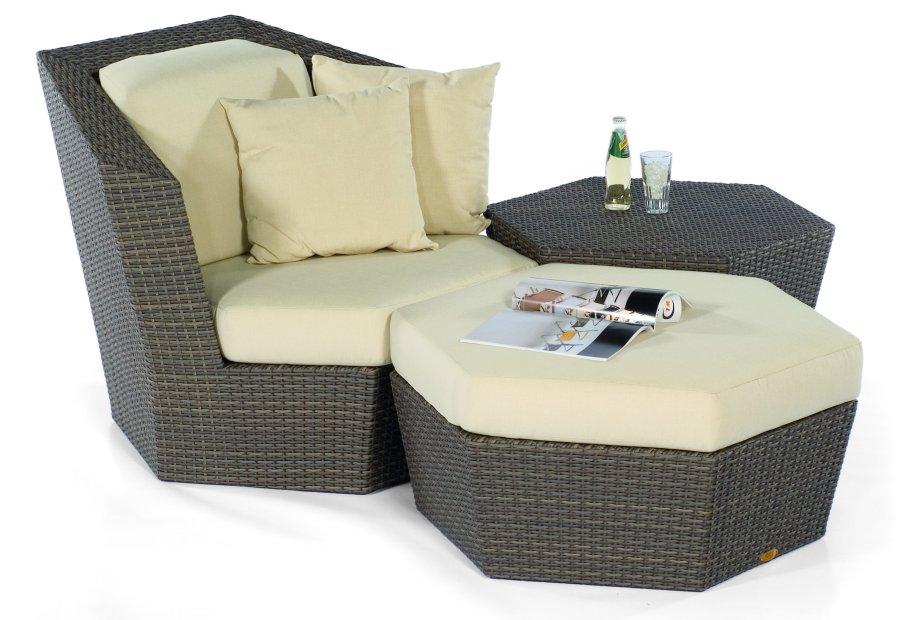 Abbildung Moderne Und Günstige Loungegruppe Liegesessel Und