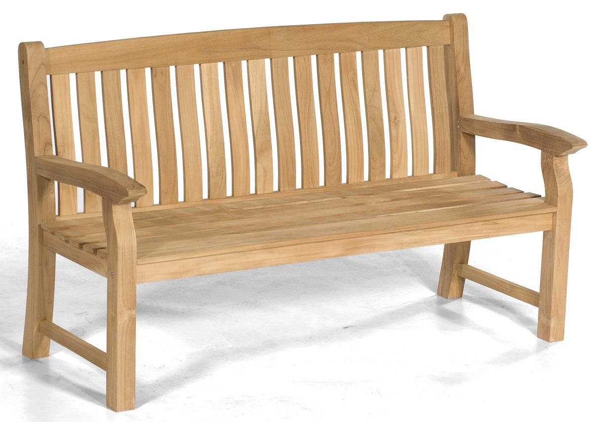 Robuste 3 Sitzer Teakholz Gartenbank Maryland Von Sonnenpartner