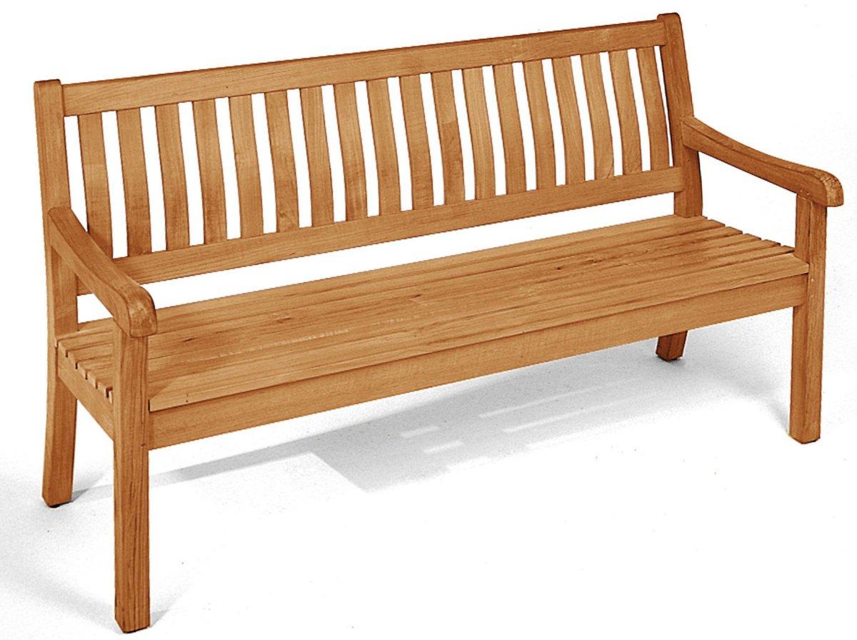 3 sitzer holzbank wales 160 von sonnenpartner aus besonders hochwertigem teakholz in. Black Bedroom Furniture Sets. Home Design Ideas