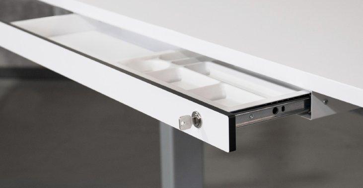 abschlie bare schreibtisch untertischschublade einbau nachtr glich. Black Bedroom Furniture Sets. Home Design Ideas