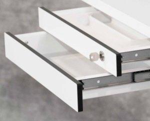 abschlie bare schreibtisch unterbauschublade robuste f r b roschreibtische. Black Bedroom Furniture Sets. Home Design Ideas