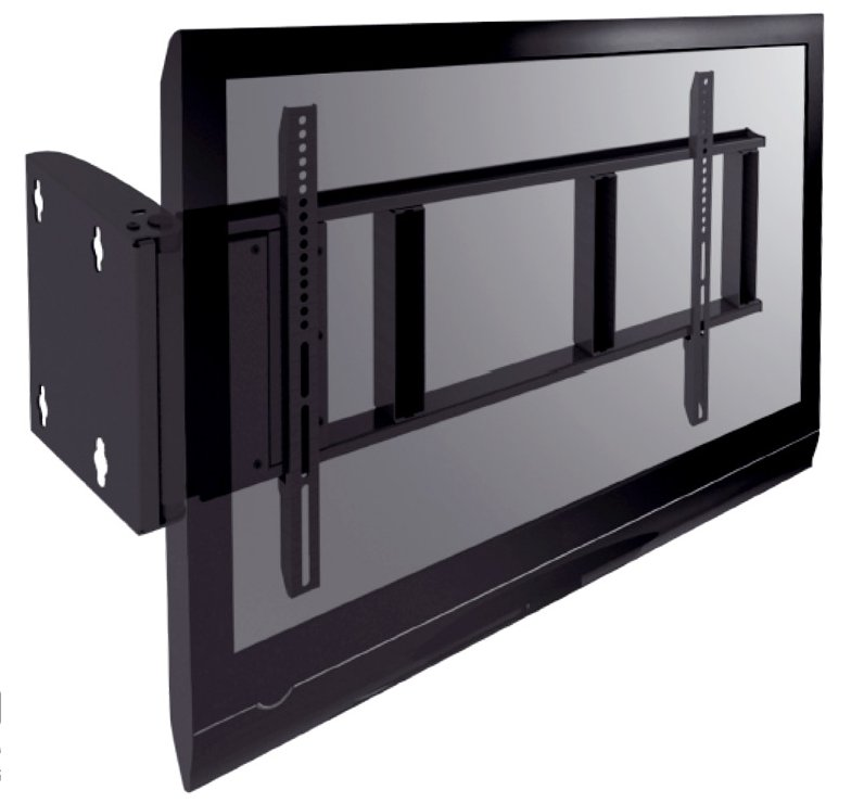 abbildung besonders stabile motorisierte tv wandhalterung fr flatscreens mit 32 zoll mit fernbedienung um 90 grad elektrisch schwenkbar - Motorisierte Tvhalterung