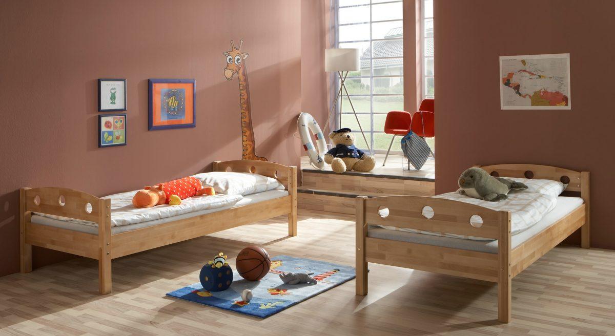 Etagenbett Kinder Massiv : Sam etagenbett für kinder girl ii weiß aus massiv holz variante