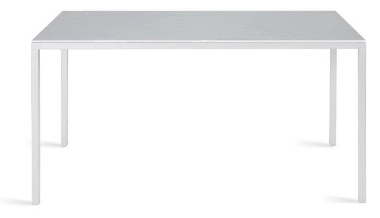 Abbildung tisch ts 80 rechteckige tischplatte 80 x for Design tisch 140