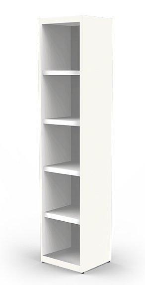 b ro regalschrank h he 115 cm mit abschlie baren holz schrankt ren. Black Bedroom Furniture Sets. Home Design Ideas