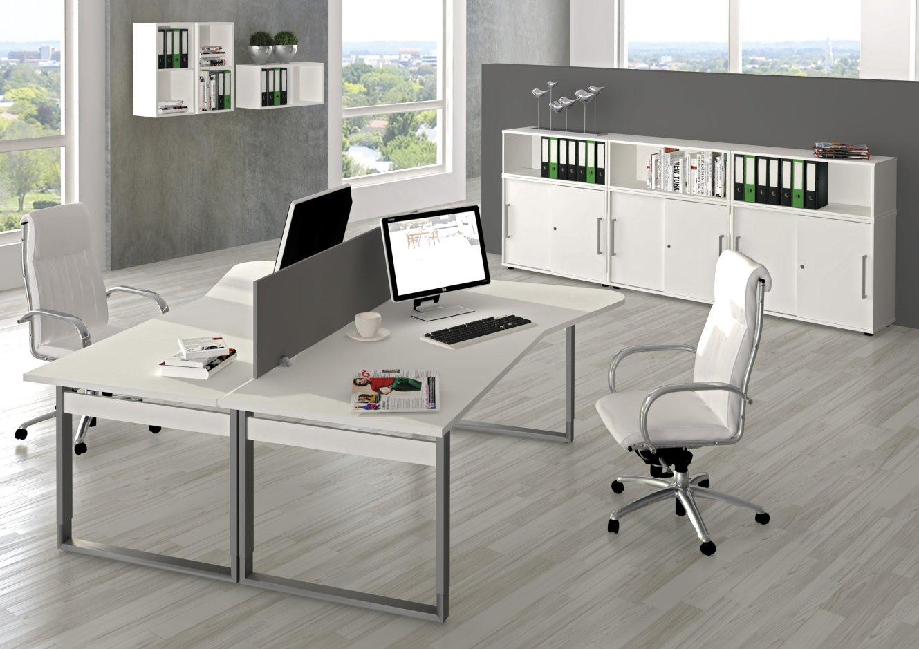 Hochwertige Edv Schreibtischen Mit Schreibtisch Trennwand