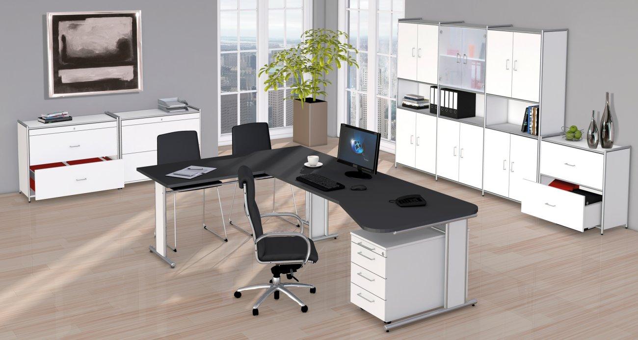 Moderne Büromöbel Weiss