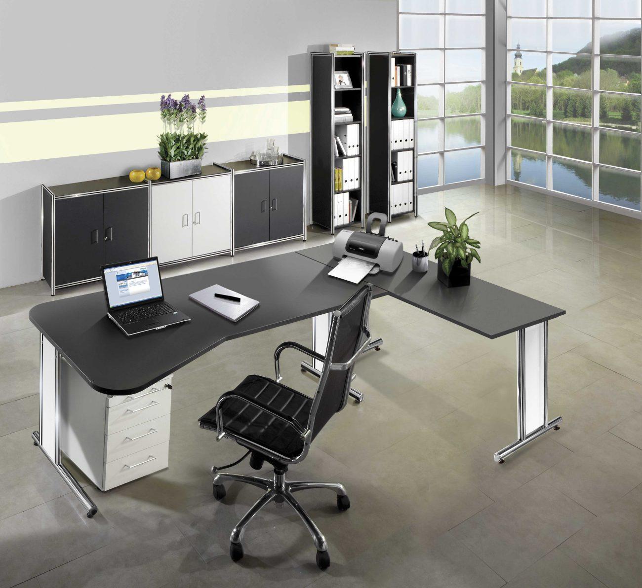 Moderne und individuell kombinierbare Büroausstattung in der ...