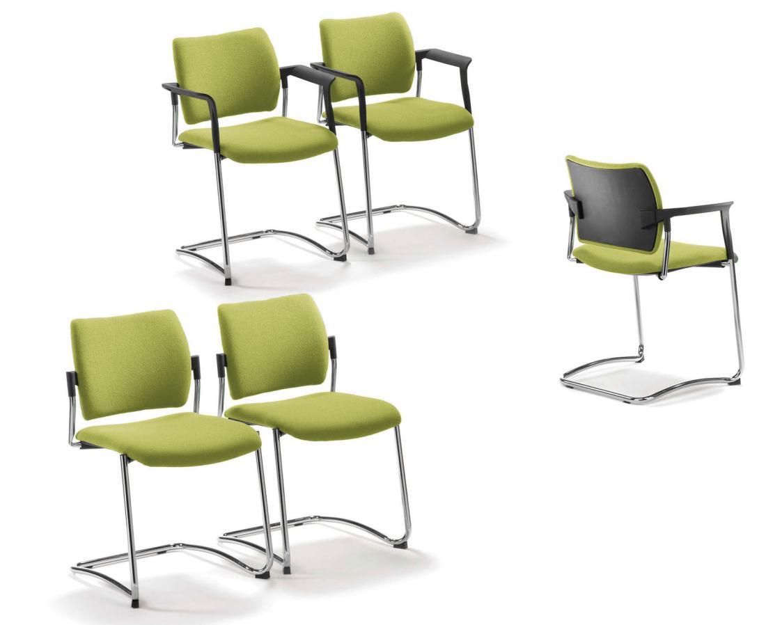 Freischwingender besprechungsstuhl besucherstuhl choice for Design stuhl freischwinger piet 30