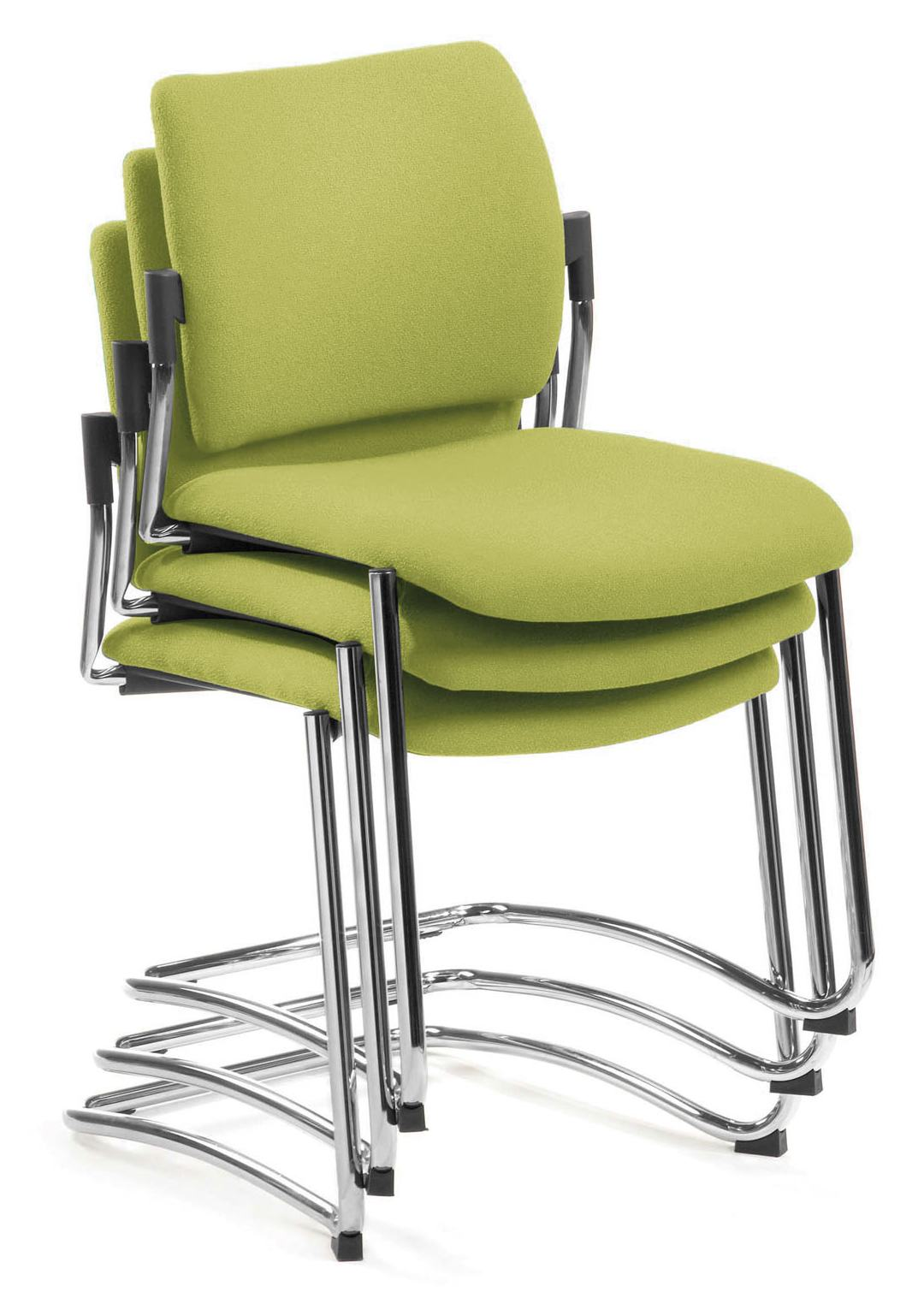 Besprechungsstuhl choice s gestapelt stabiles for Design stuhl freischwinger piet 30