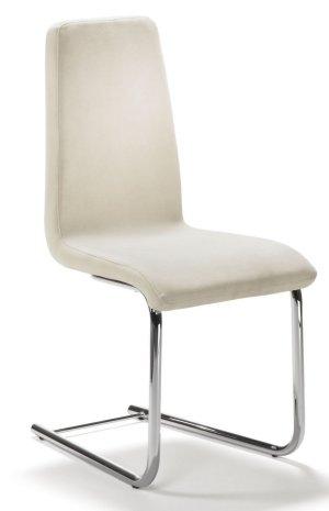 Moderner und robuster freischwinger esstischstuhl mit for Esstischstuhl design