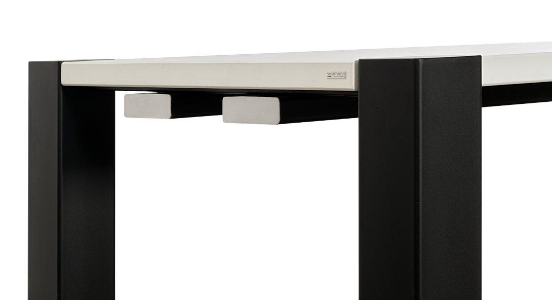 Moderner Esstisch Holz Und Stahl