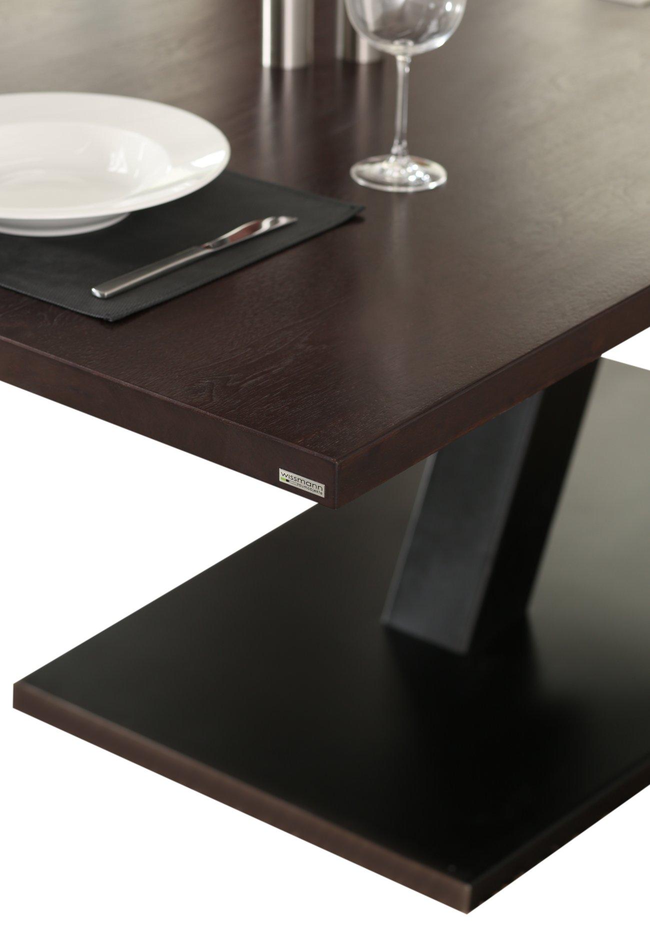 esstisch nussbaum dunkel. Black Bedroom Furniture Sets. Home Design Ideas