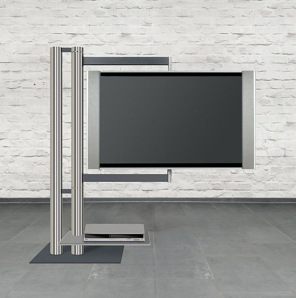 Design tv möbel drehbar  nach allen Richtungen frei drehbarer TV-Standfuß