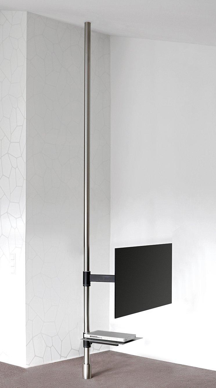 TV-Boden-Deckenhalterung drehbar einspannen Boden Decke