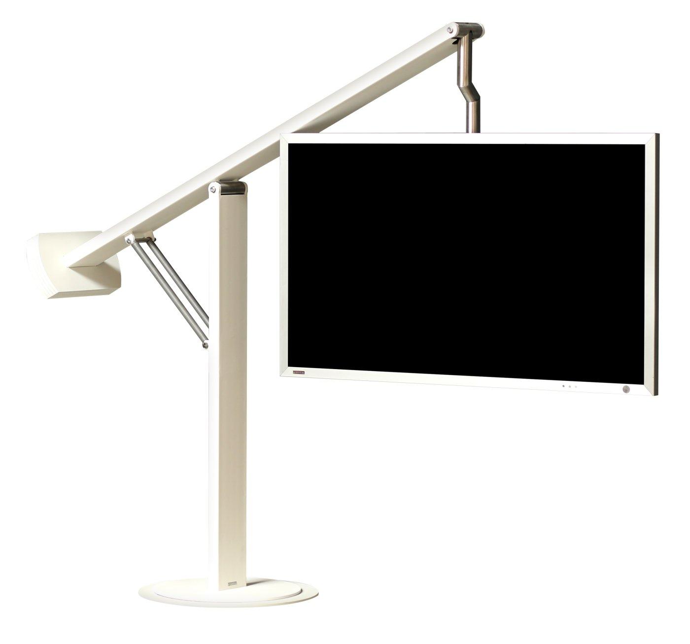 hochwertiger standfu f r flachbildfernseher von 40 60 zoll mit einem h henverstellbaren und. Black Bedroom Furniture Sets. Home Design Ideas