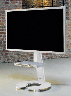 Eleganter Tv Standfuß Aus Robustem Stahl Geeignet Für