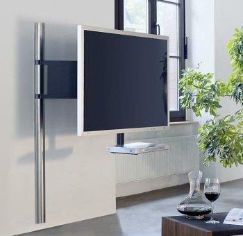elegante und sehr stabile tv wandhalterung mit drehbarem schwenkarm f r led fernseher bis 85 zoll. Black Bedroom Furniture Sets. Home Design Ideas